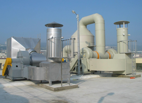 成都微电子行业废气处理